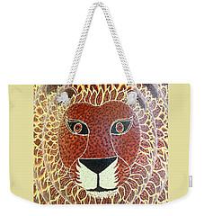 Lion 8x12 Weekender Tote Bag
