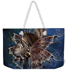 Lion Fish Weekender Tote Bag