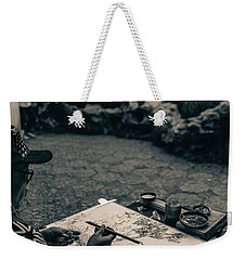 Lion Forest Garden Artist Weekender Tote Bag