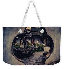 Lion Forest Garden Portal Weekender Tote Bag