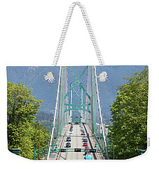 Lion Gates  Weekender Tote Bag