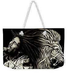 Lion Heart -bob Marley Weekender Tote Bag