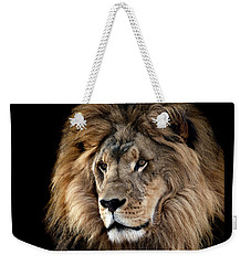 Lion King Of The Jungle 2 Weekender Tote Bag