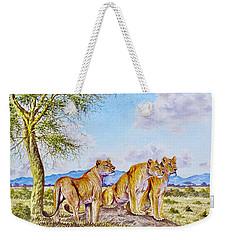 Lion Pack Weekender Tote Bag