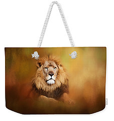 Lion - Pride Of Africa I - Tribute To Cecil Weekender Tote Bag