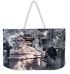 Lion Sleeping In The Shade Weekender Tote Bag