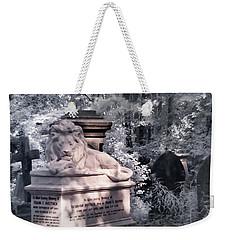 Sleeping Lion Weekender Tote Bag