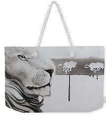 Lion Tears Weekender Tote Bag