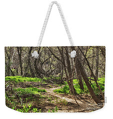 Lion Trail At Hassayampa Nature Reserve Weekender Tote Bag by Anne Rodkin