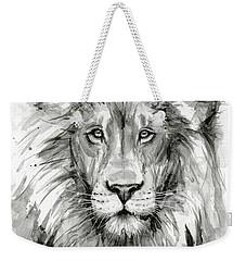 Lion Watercolor  Weekender Tote Bag