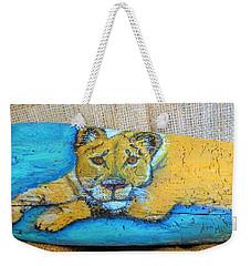 Lioness Weekender Tote Bag
