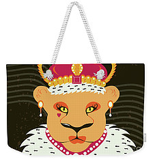Lioness Queen Weekender Tote Bag