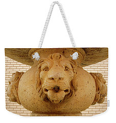 Lions All Around Weekender Tote Bag by Mary Ellen Frazee