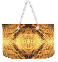 Lion's Eye Weekender Tote Bag by Maria Watt