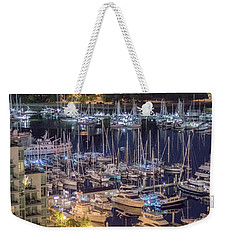 Lions Gate Bridge And Stanley Park Weekender Tote Bag by Ross G Strachan
