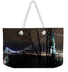 Lions Gate Bridge Weekender Tote Bag