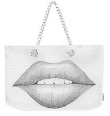 Lip Study Weekender Tote Bag