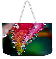 Liquid Beads Weekender Tote Bag by Christopher Holmes
