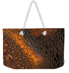 Liquid Copper Glass Weekender Tote Bag by Bruce Pritchett