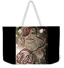 Liquid Ether Spacial Sound Weekender Tote Bag by Talisa Hartley