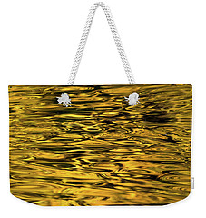 Liquid Gold Weekender Tote Bag