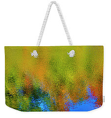 Weekender Tote Bag featuring the photograph Liquid Light by Gary Hall