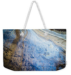 Liquid Oil On Water With Marble Wash Effects Weekender Tote Bag