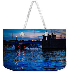 Liquid Sunset Weekender Tote Bag