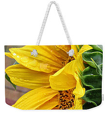 Liquid Sunshine Weekender Tote Bag by Katie Wing Vigil