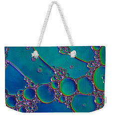 Liquid Turquoise River Stone  Weekender Tote Bag by Bruce Pritchett