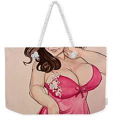 Lisa Marie Weekender Tote Bag by Jimmy Adams