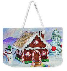 Lisa's Gingerbread House Weekender Tote Bag