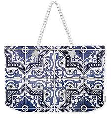 Lisbon Tile Superstar Weekender Tote Bag