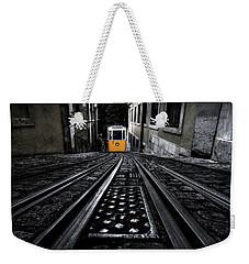 Lisbon Tram Weekender Tote Bag by Jorge Maia