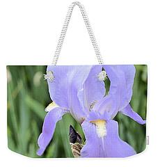 Lissy Iris Weekender Tote Bag by Marsha Heiken