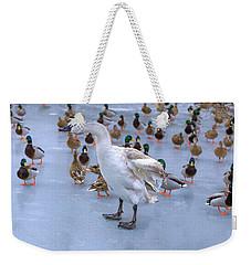 Listen Up You Ducks Weekender Tote Bag