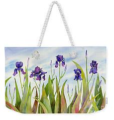 Listening To Divas Weekender Tote Bag by Amy Kirkpatrick