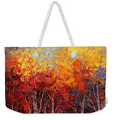 Listening To Leaves Weekender Tote Bag