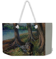 Listening To The Tales Of The Trees Weekender Tote Bag