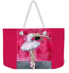 Little Ballerina #2 Weekender Tote Bag