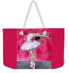Little Ballerina #2 Weekender Tote Bag