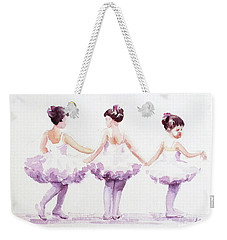 Little Ballerinas-3 Weekender Tote Bag