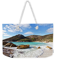 Weekender Tote Bag featuring the photograph Little Beach Two Peoples Bay Nature Reserve by Ivy Ho