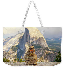 Little, Big Squirrel Weekender Tote Bag