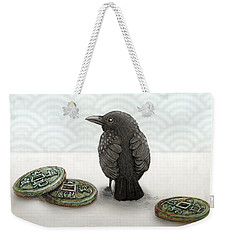 Little Bird And Coins Weekender Tote Bag