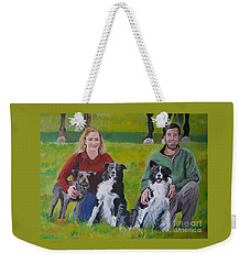 Little Bit's New Family Weekender Tote Bag