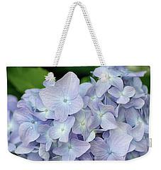 Little Blue Petals Weekender Tote Bag