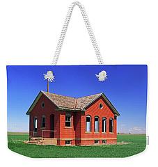 Little Brick School House Weekender Tote Bag
