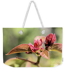 Weekender Tote Bag featuring the photograph Little Buddies by Victor K