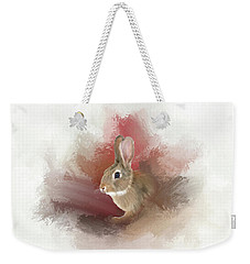 Little Bunny Weekender Tote Bag by Mary Timman